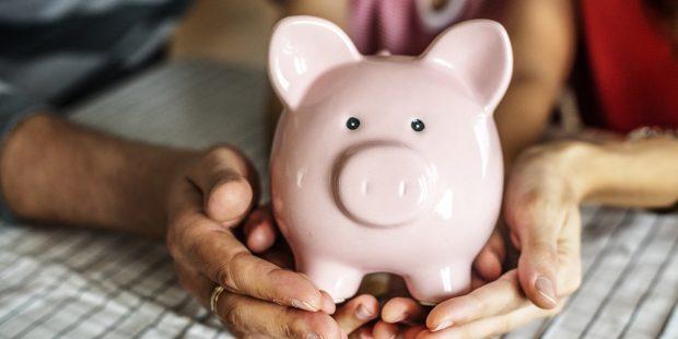 sparegris og opsparing